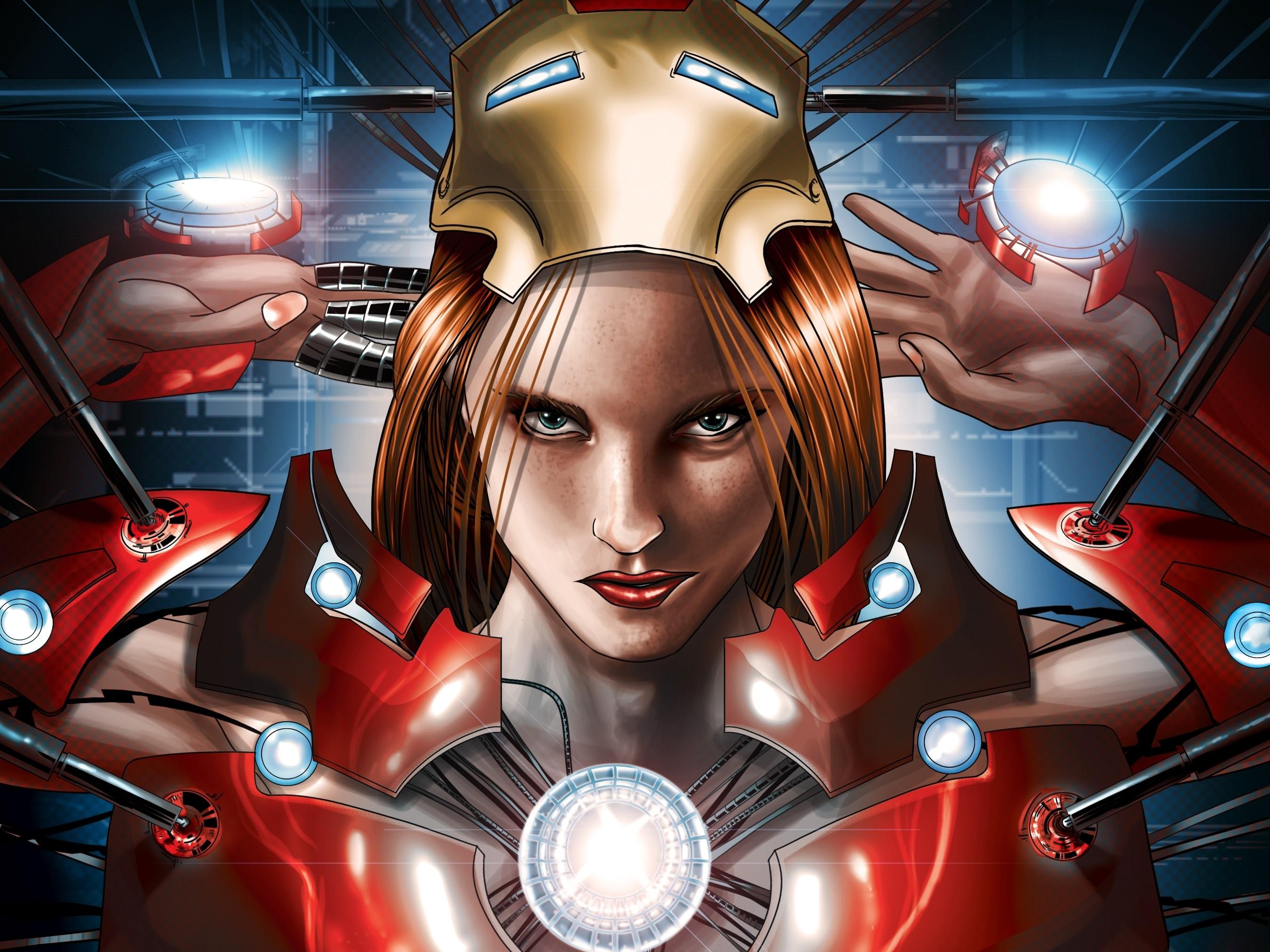 Fantastic Wallpaper Marvel Portrait - women-redhead-anime-superhero-Marvel-Comics-Iron-Man-machine-comics-Pepper-Potts-screenshot-computer-wallpaper-comic-book-50716  Collection_717782.jpg