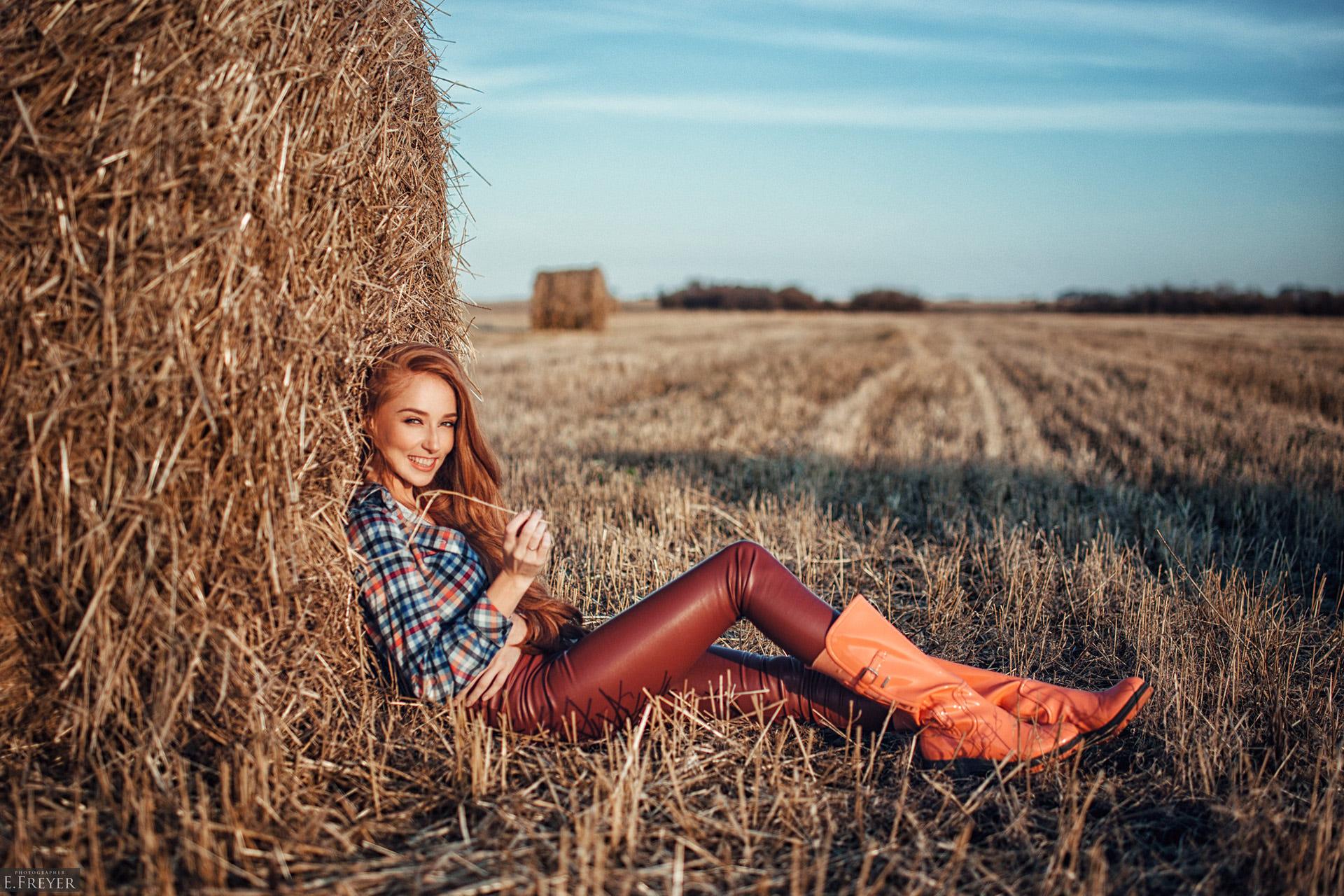 что одеть на фотосессию в поле