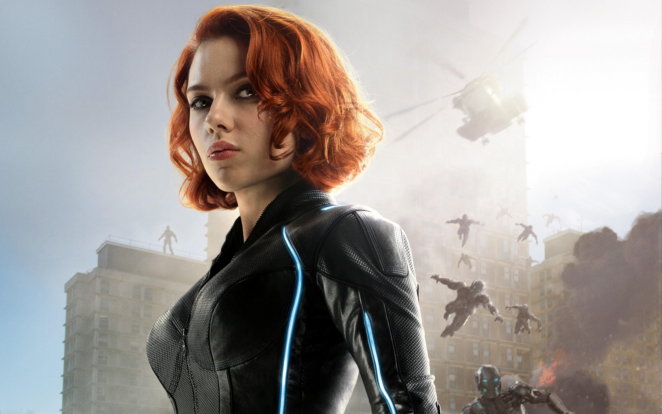 Wallpaper Women Redhead Model Actress Fashion The Avengers