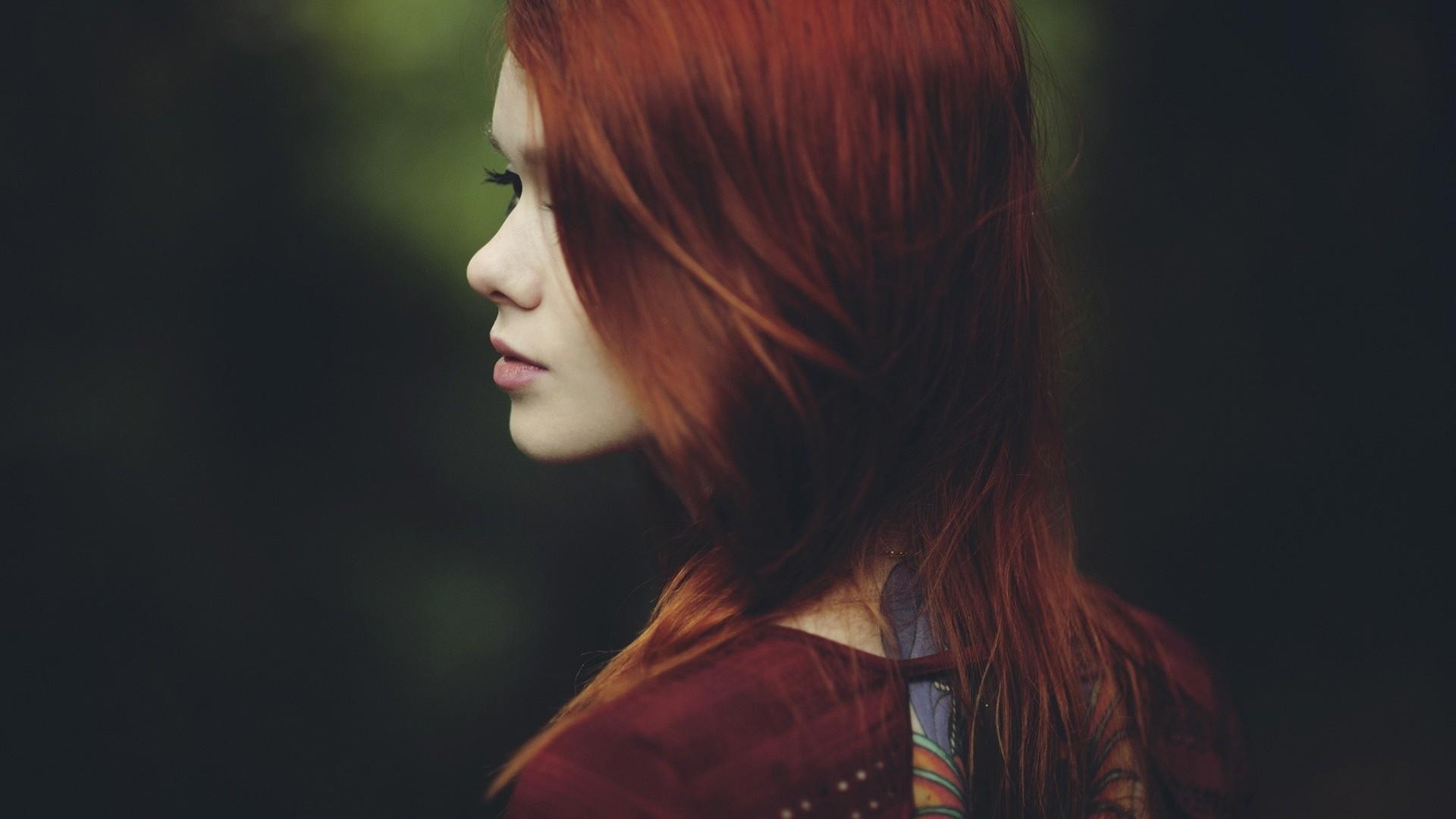 Hintergrundbilder Frau Rothaarige Modell Porträt Lange Haare