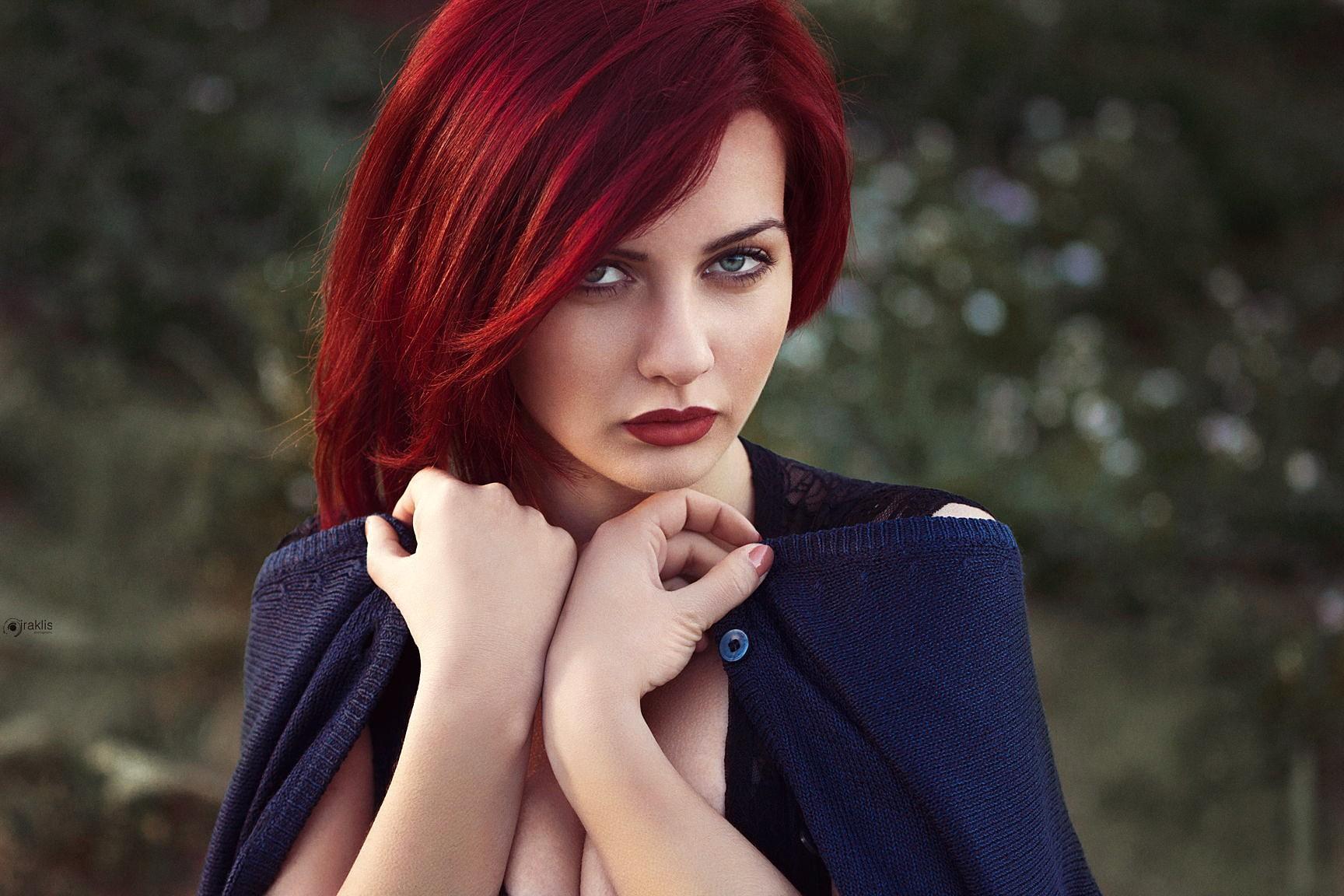 вот люди с красным цветом волос фото глубина