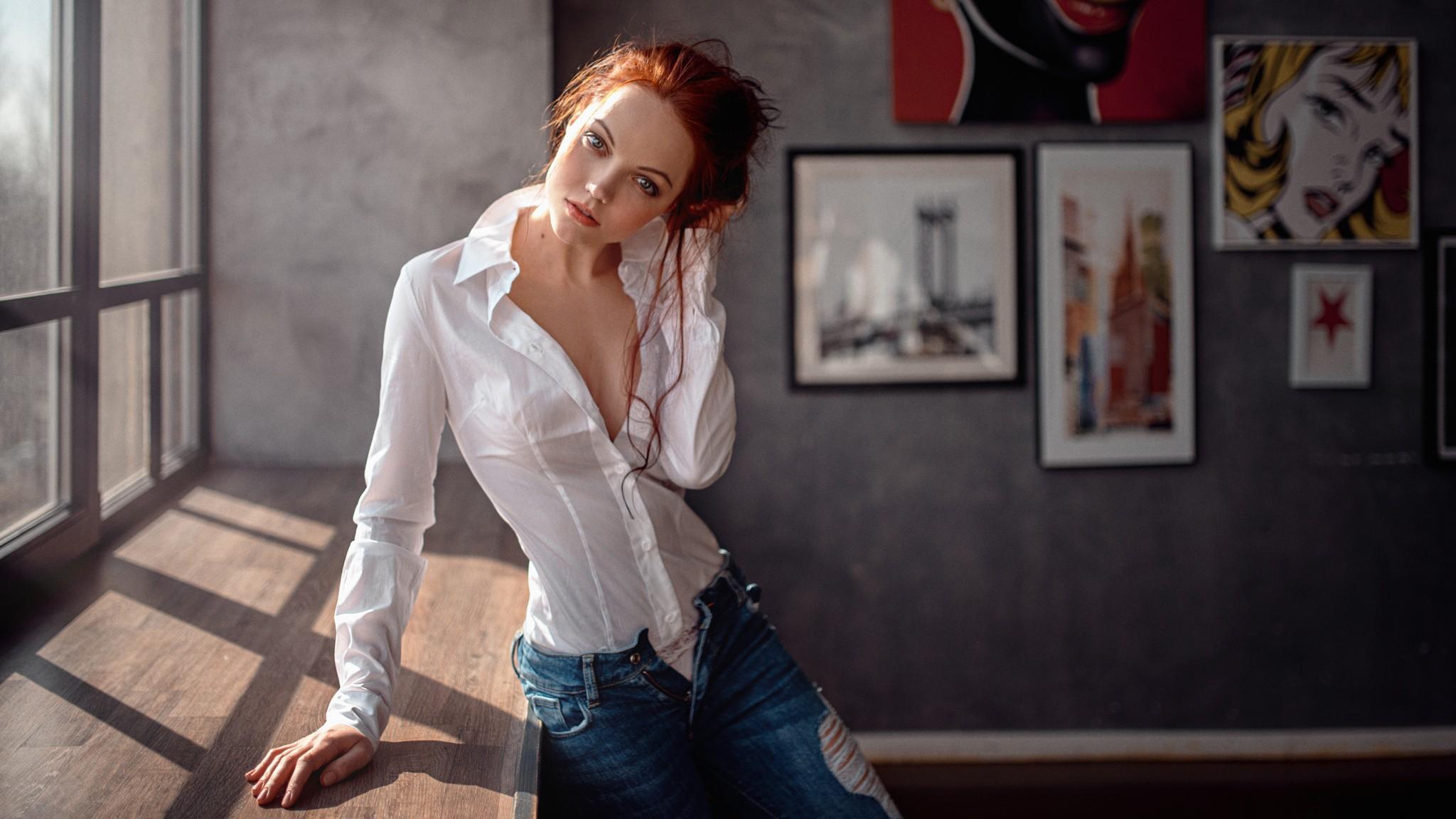 Фото девушек в блузках, Девушки в обтягивающих блузках ( 24 фото ) 7 фотография