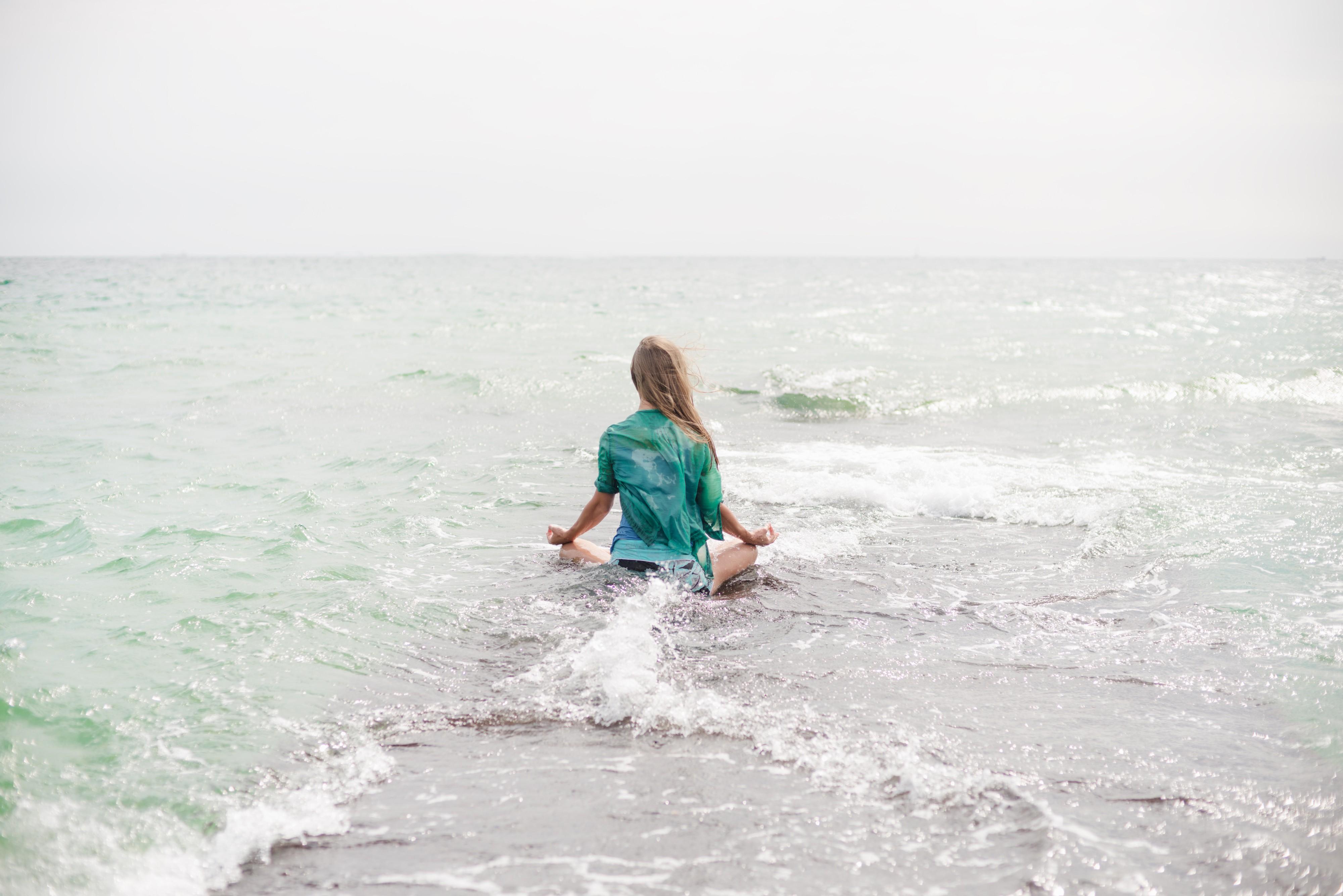 Wallpaper Women Sea Water Shore Sand Beach Yoga Meditation Vacation Ocean Surfboard Wind Wave Surfing Equipment And Supplies Skimboarding 4000x2670 Wallpapermaniac 154543 Hd Wallpapers Wallhere