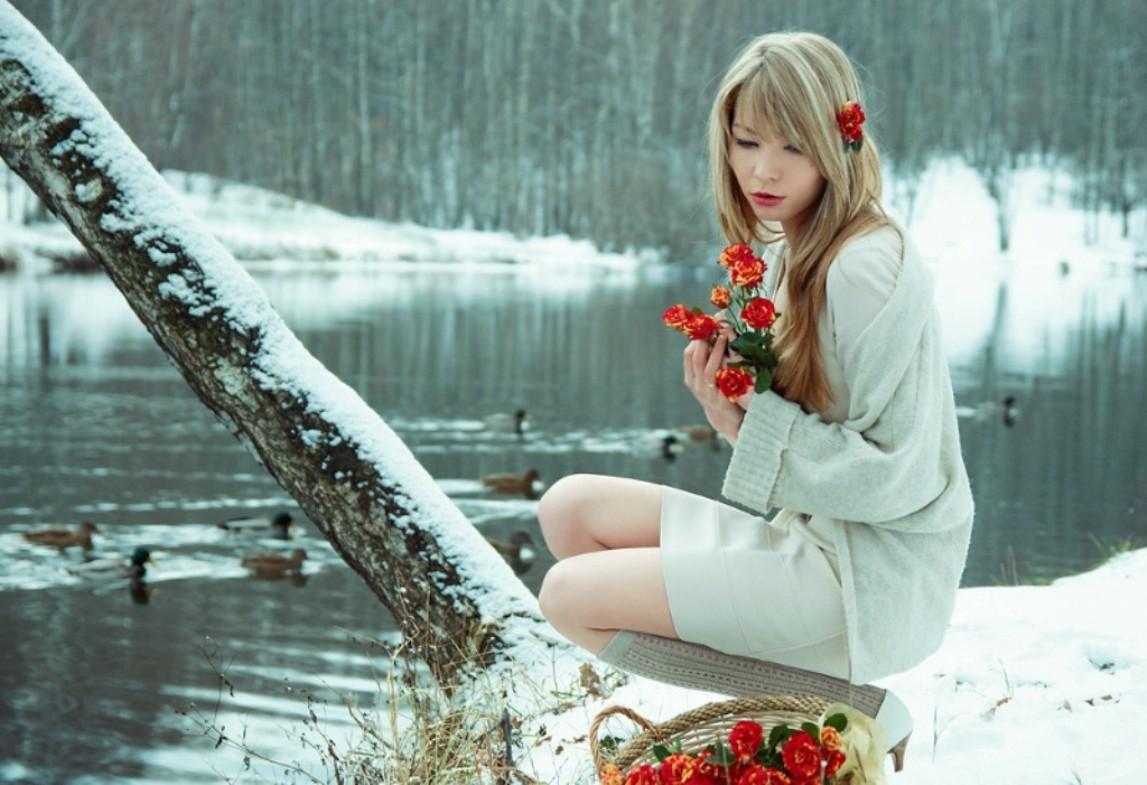 картинки с красивыми сидящими на снегу продаже квартир