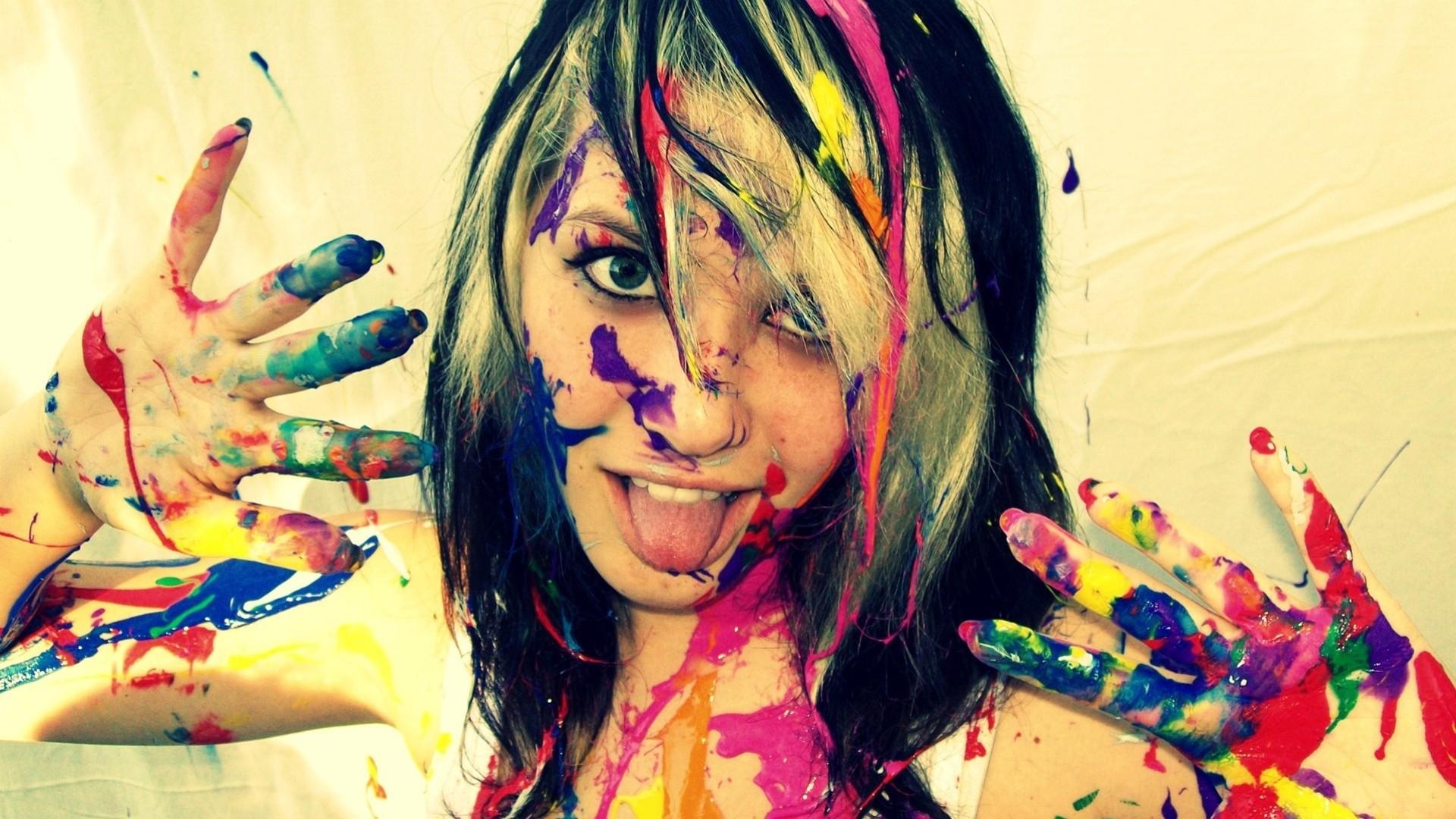 Краска которой рисуют на теле