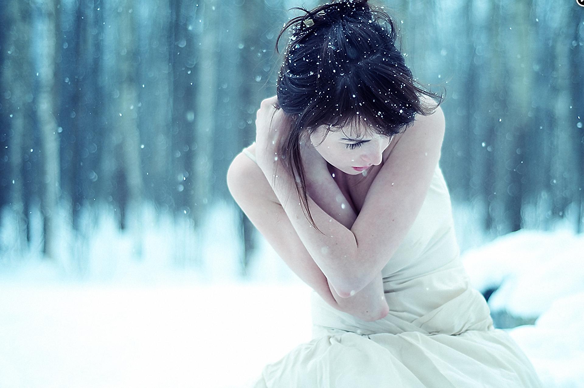фей картинки грусть снег удачного извлечения