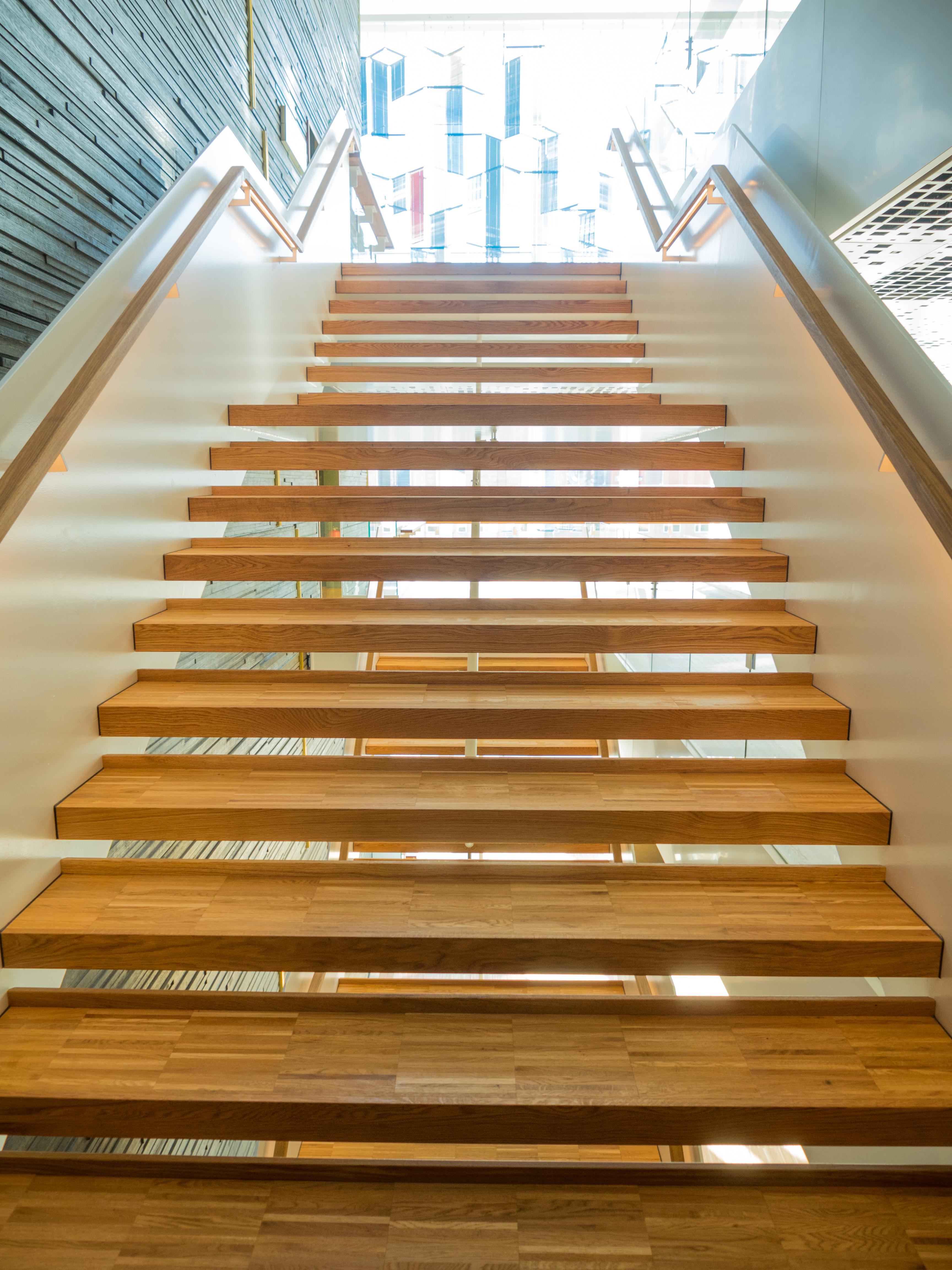 Wallpaper : stairs, interior design, handrail, malmo, floor ...