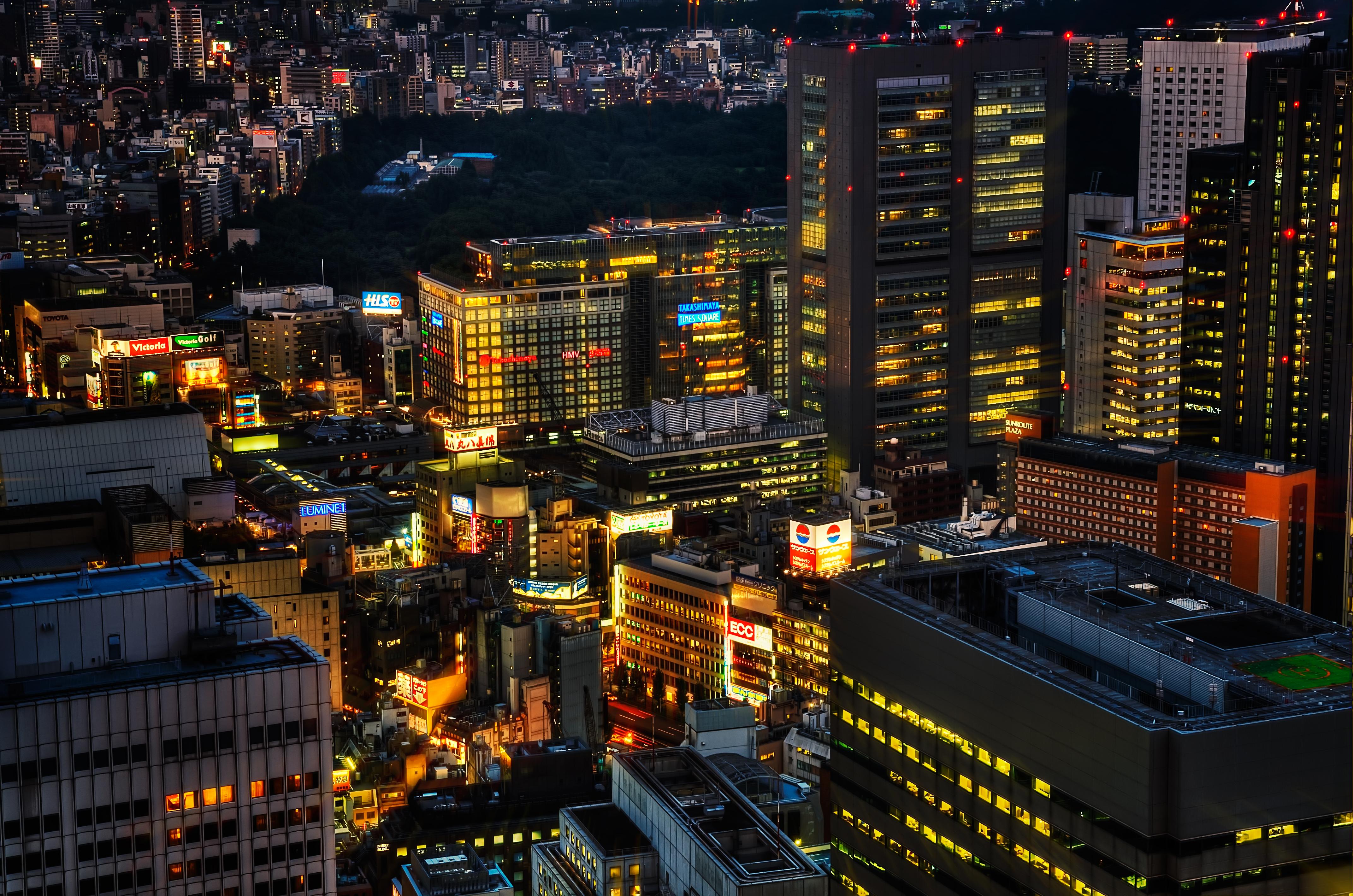 токио фотографии города выбирают
