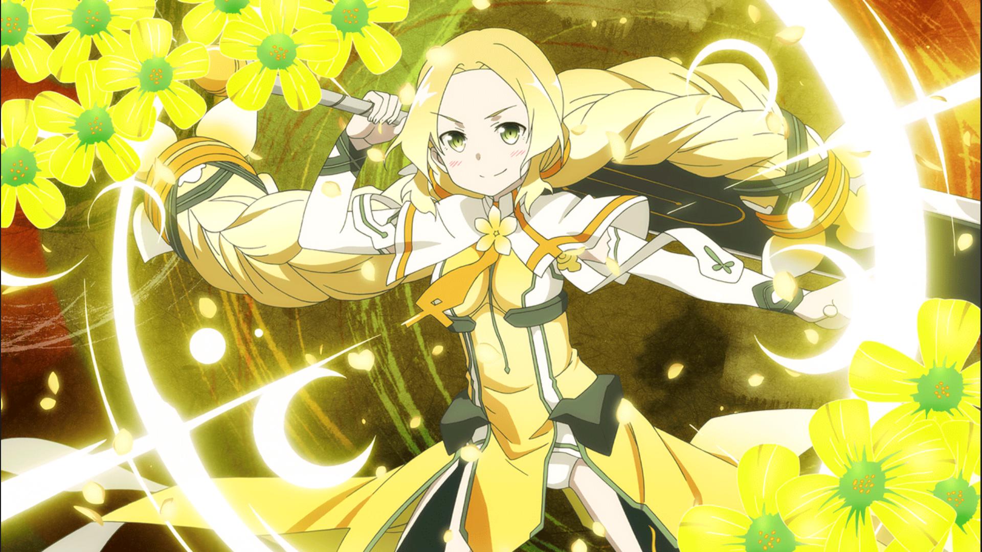 Wallpaper Yellow Inubouzaki Fu Oxalis Yuki Yuna Is A Hero