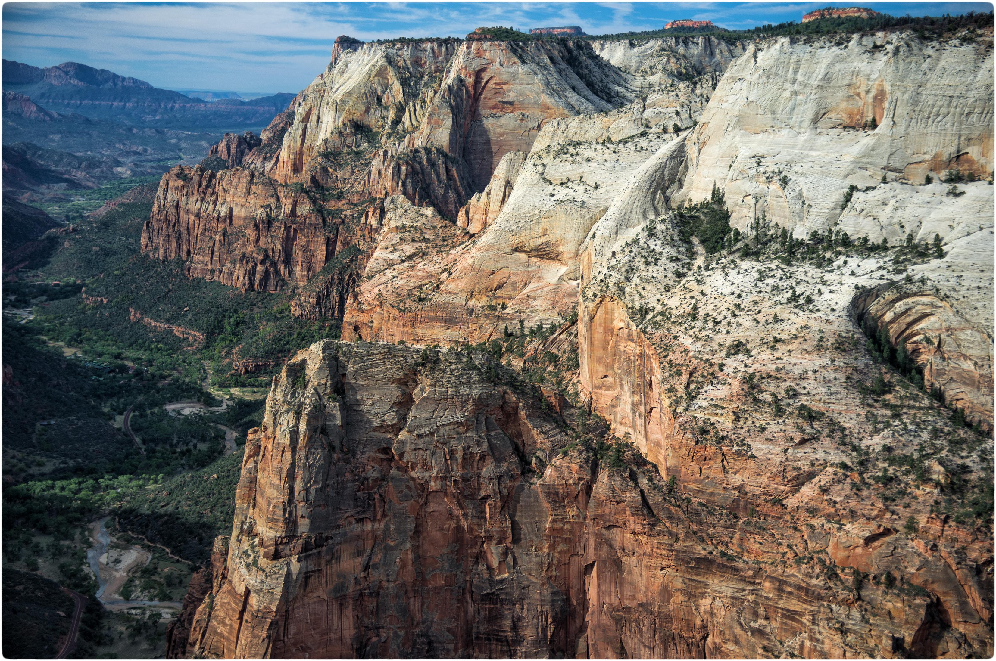 Wallpaper Zionnationalpark Utah Usa Angellanding